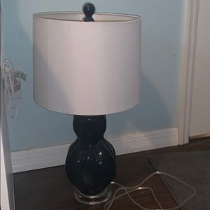 Other - Dark blue lamp from home goods!